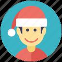 christmas boy, christmas celebration, enjoying kid, happy boy, holiday happiness icon