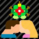 ball, christmas, couple, decoration, kiss, love, mistletoe