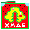 gift, tree, christmas, cards, xmas, card
