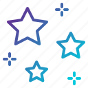 night, sky, star, stars icon
