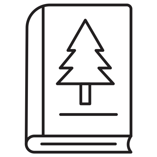 Book, christmas, tree icon - Free download on Iconfinder