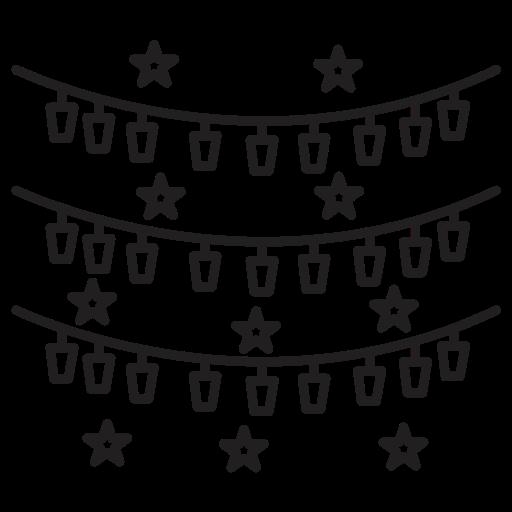 bounties, celebrations, stars icon