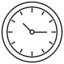 clock, hours, minutes, time icon