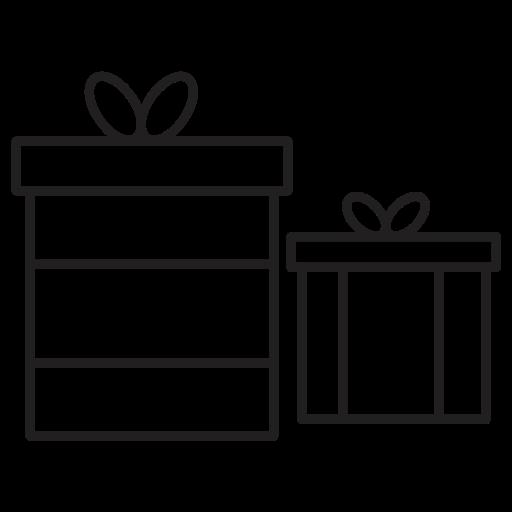 christmas, gift, giftbox, gifts icon