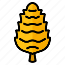 christmas, cone, nut, pine icon