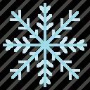 christmas, snow, snowflakes, winter icon