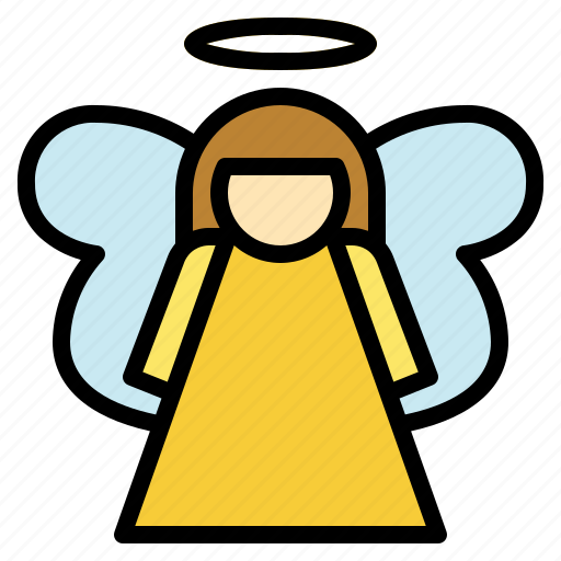 Angel, celebration, christmas, wishes icon - Download on Iconfinder