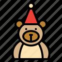 animal, bear, christmas, decorations icon