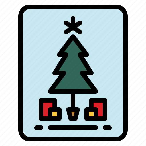 Card, celebration, christmas, invitation icon - Download on Iconfinder