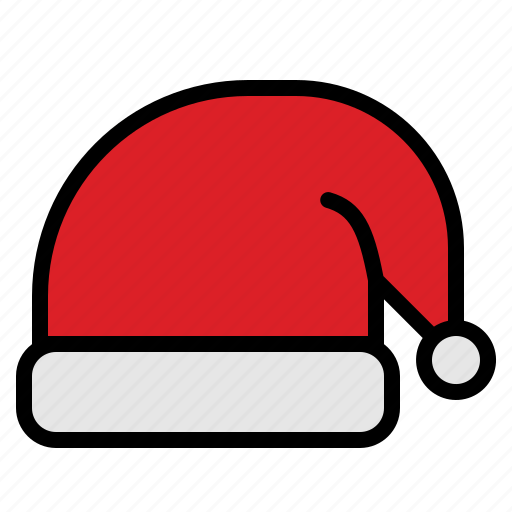 celebration, christmas, hat, santa icon