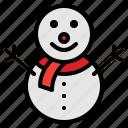 celebration, christmas, santa, snowman icon