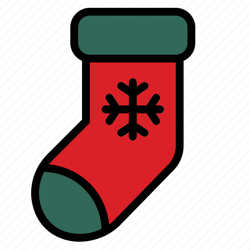 Christmas, cloth, sock, warm icon - Download on Iconfinder