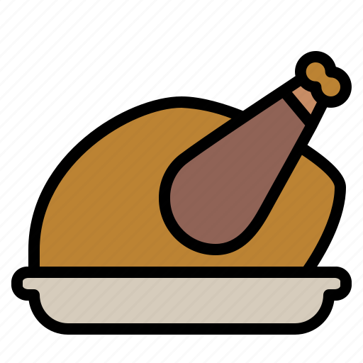 Celebration, christmas, food, turkey icon - Download on Iconfinder