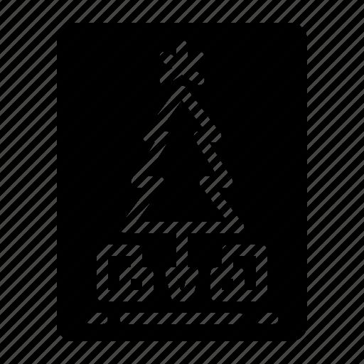 Card, celebration, christmas, invitation icon - Download on Iconfinder
