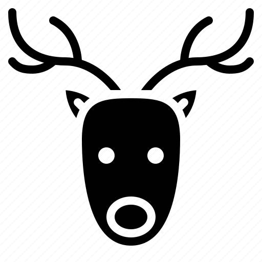 Animal, christmas, happy, reindeer icon - Download on Iconfinder
