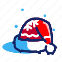 cap, christmas, hat, santa, xmas icon