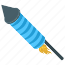 christmas celebration, firecracker, firework, rocket fire, rocket firework icon