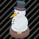 christmas snowman, frosty, iceman, jolly christmas, snowman icon
