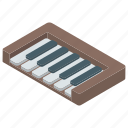 classical music, electric piano, musical instrument, piano, piano keyboard icon