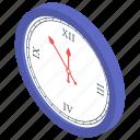 christmas clock, christmas countdown, round clock, timepiece icon