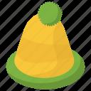 beanie hat, bobble, cap, hat, headwear icon
