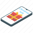 christmas sale, e commerce, online gifting, online shopping, sales app