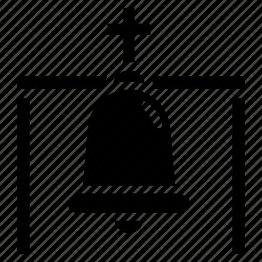 alert, bell, christmas bell, church bell, jingle bell, ring icon