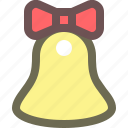 bell, christmas, decoration, holiday, new year, winter, xmas icon
