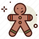 holidays, gingerbread, man, christianity, winter