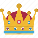 crown, headgear, headwear, royal crown, star crown icon