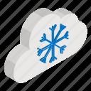 forecast, hailing, meteorology, snow falling, weather, winter season