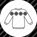 christmas, jumper, xmas, winter icon