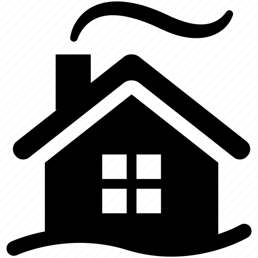 cold, efficiency, heating, home, house, snow, winter icon