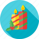 birthday, candle, celebration, christmas, decoration icon