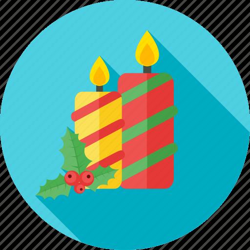 birthday, candle, celebration, christmas, decoration icon