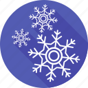 christmas, forecast, holiday, snow, snowflakes, weather, xmas icon