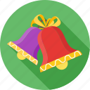 bell, celebration, christmas, decoration, prize, winter icon