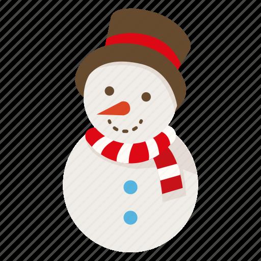 christmas, decoration, frozen, santa, snow, snowman, xmas icon