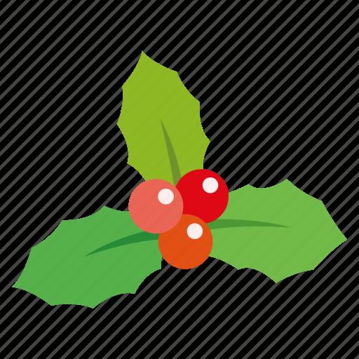 bell, christmas, gift, leaf, mistletoe, ring, snow icon