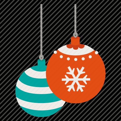 ball, christmas, decoration, shine, wink, xmas icon