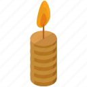 candle, christmas, decorate, decoration, light icon