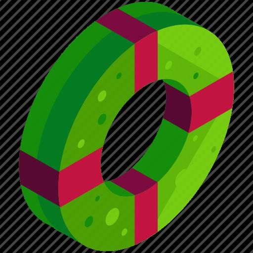 Celebration, christmas, decoration, door, wreath icon - Download on Iconfinder