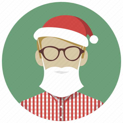 christmas, holiday, mask, santa, winter, xmas icon