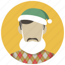 christmas, holiday, mask, party, santa, winter, xmas icon
