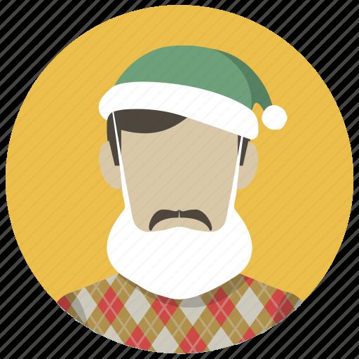 christmas, holiday, mask, party, santa, winter, xmas icon