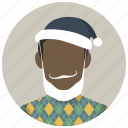 christmas, masquerade, party, santa, santa claus, winter, xmas icon