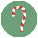 candy, candy cane, cane, decoration, lollipop, sweet, winter icon
