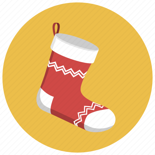 christmas, christmass, gift, holiday, sock, socks, xmas icon