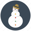 christmas, holiday, snow, snow man, snowman, winter, xmas icon