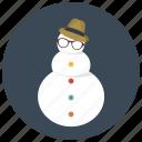 christmas, holiday, snow, snow man, snowman, winter, xmas icon